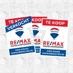 REMAX raamposters